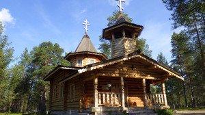 Eglise orthodoxe de Nellim