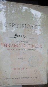 Un autre certificat !