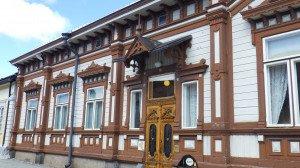 Rauma, ville aux nombreuses maisons en bois très typiques
